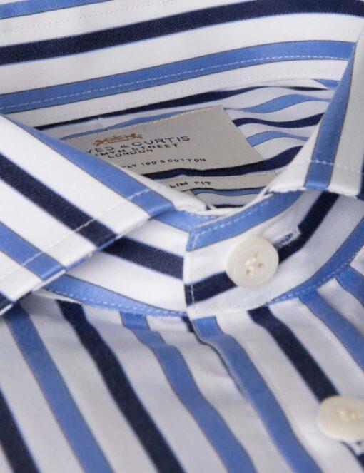 پیراهن مردانه راه راه عمودی