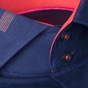 پیراهن مردانه آبی قرمز