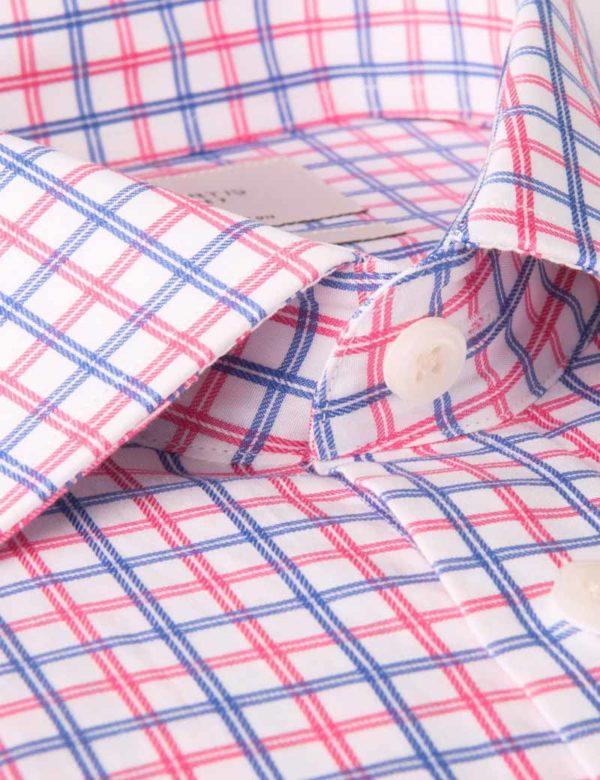 پیراهن مردانه چهارخانه ریز